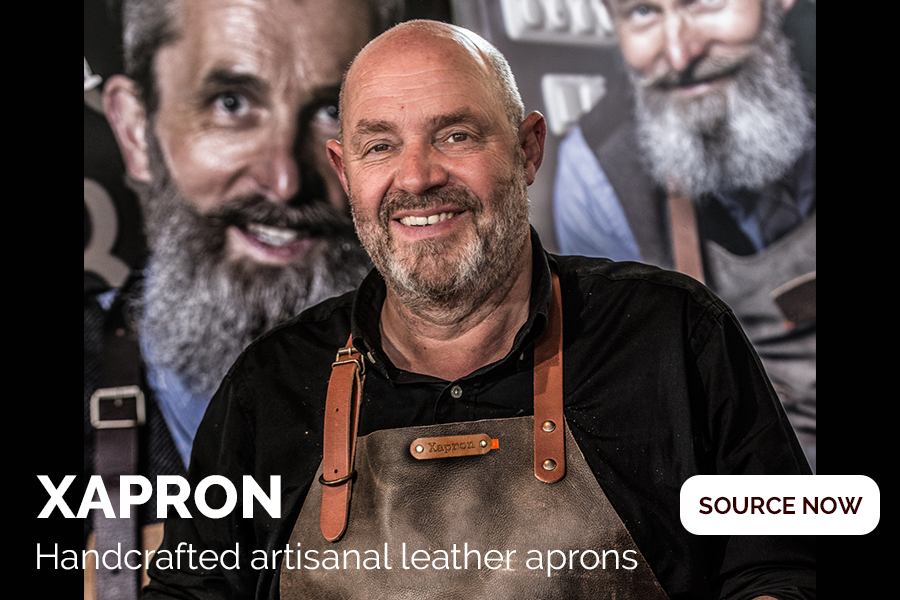 Stylish handcrafted artisanal apron by Xapron