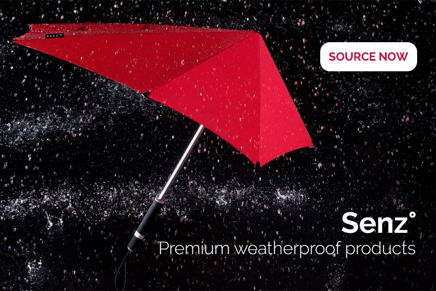 Stormproof umbrella by Senz
