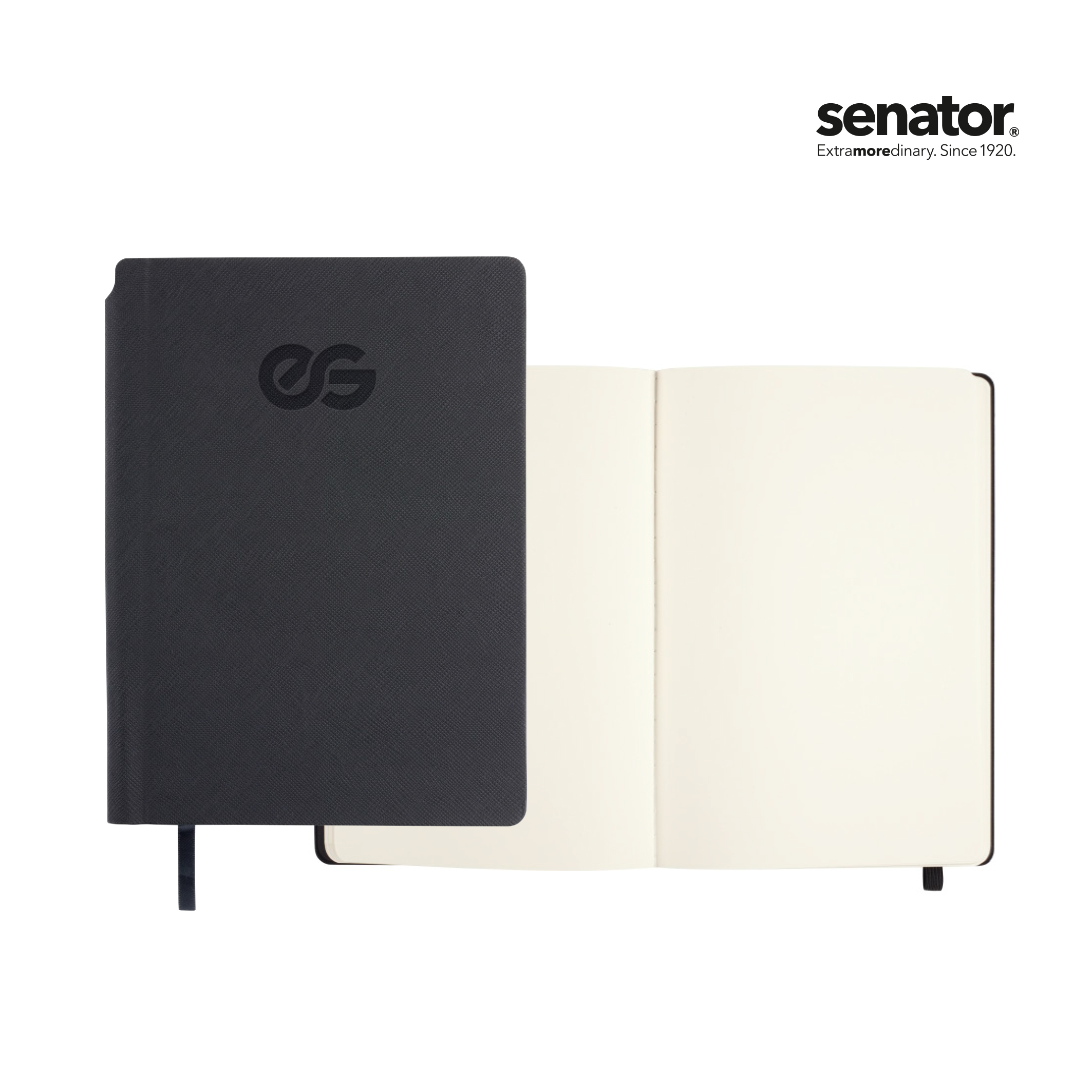 senator Notebook with structure